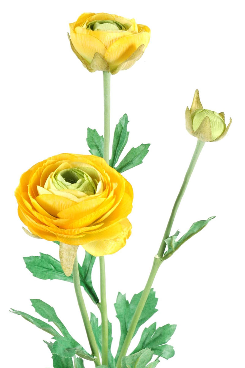 fleur-artificielle-renoncule-jaune-2