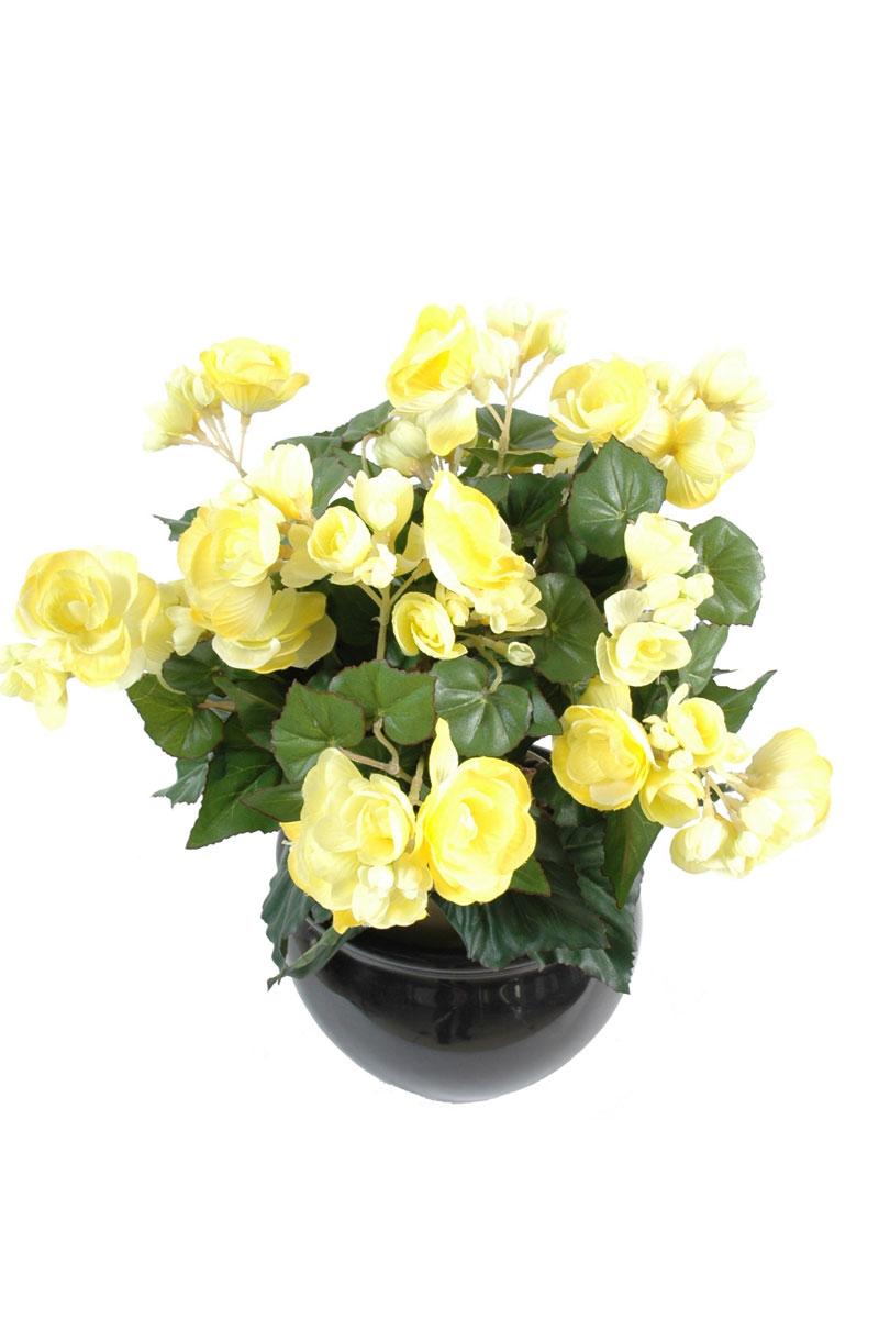 plante-artificielle-fleurie-begonia-jaune-3