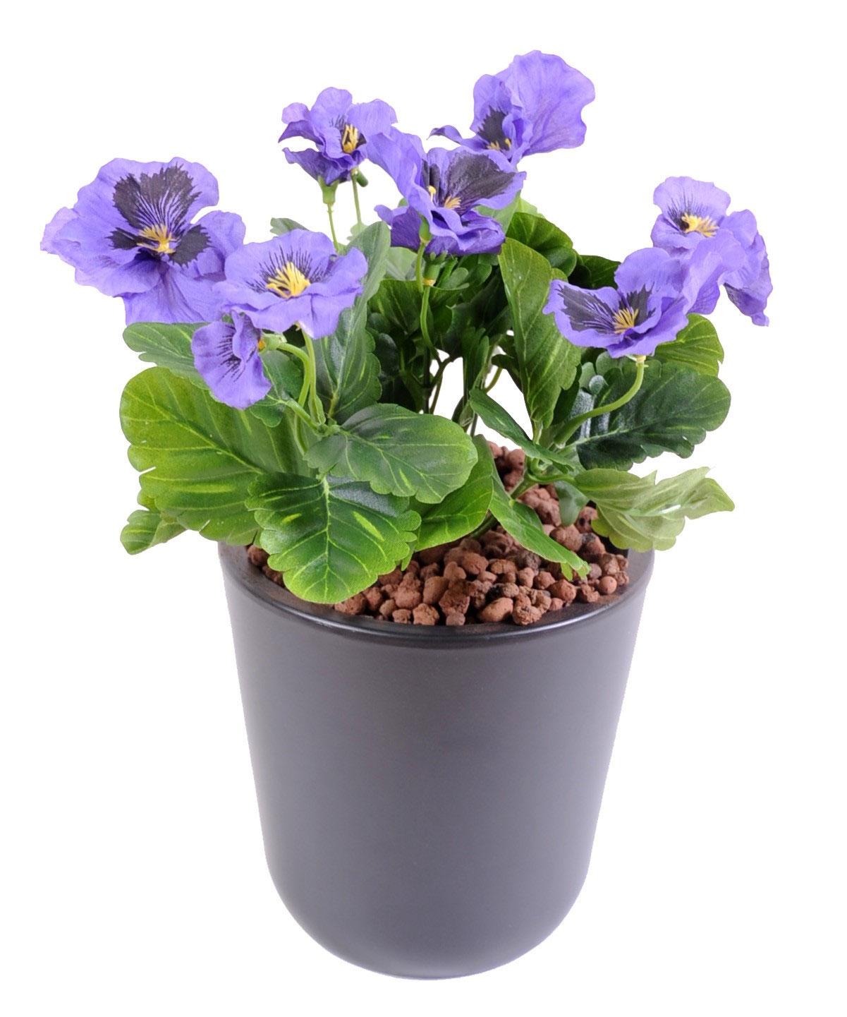 plante-artificielle-fleurie-pensee-violette-3