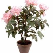 plante-artificielle-fleurie-pivoine-rose-1