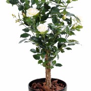 plante-artificielle-rosier-royal-arbuste-rose-creme-1