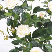 plante-artificielle-rosier-royal-arbuste-rose-creme-2