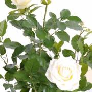 plante-artificielle-rosier-rose-creme-2