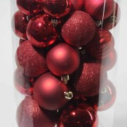 boule-noel-rouge-sapin-artificiel