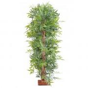 haie-bambou artificiel-uv-resistant-cote