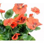 plante-artificielle-pensee-orange-2